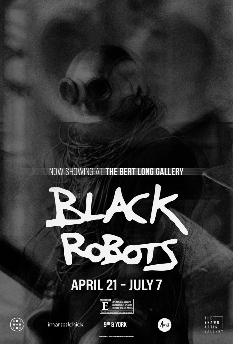 Black Robots the Movie Now Showing exclusively at HMAAC through July 7th.