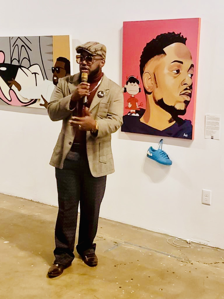 Speaking on the importance of art and imagery at the BAAT Show