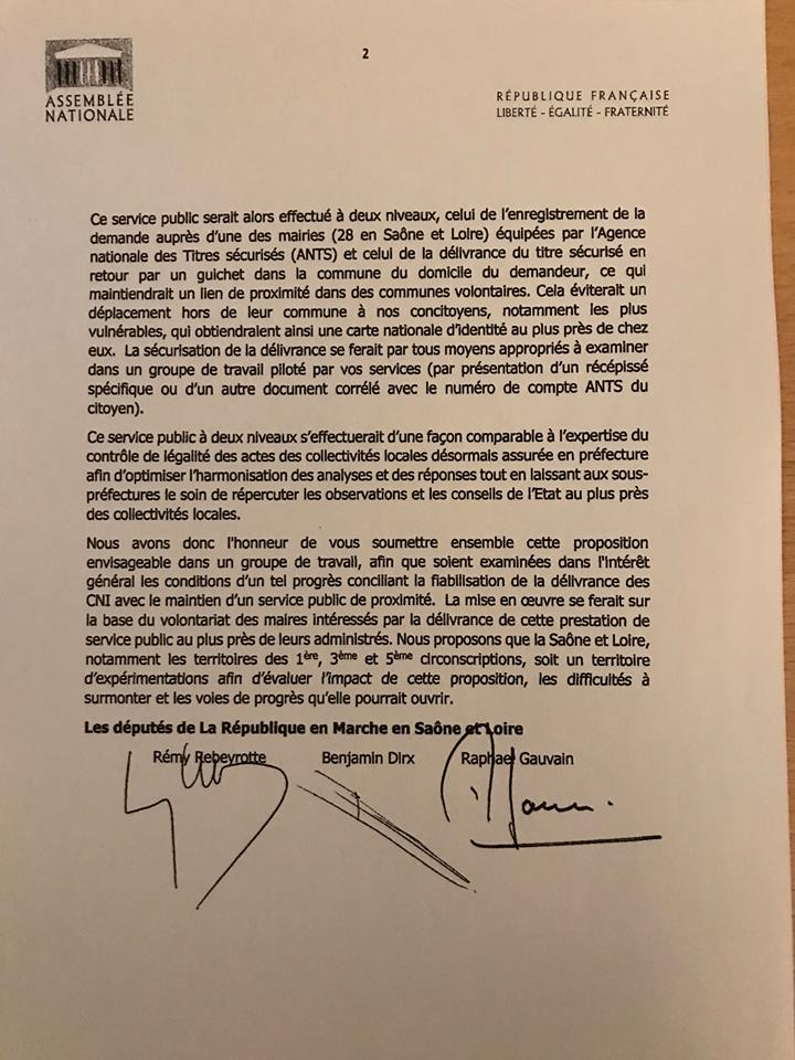 Benjamin Dirx courrier Ministre interieur carte identité 2.jpg