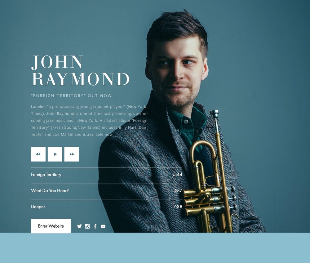 http://www.johnraymondmusic.net