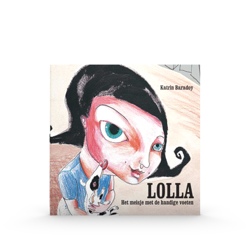 Lolla. Het meisje met de grote voeten - Katrien BaradoyWinner 2002