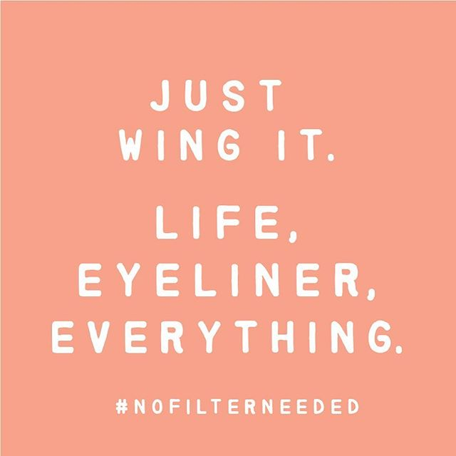 Today's mantra... 🤷‍♀️ #nofilterneeded #justwingit 💜