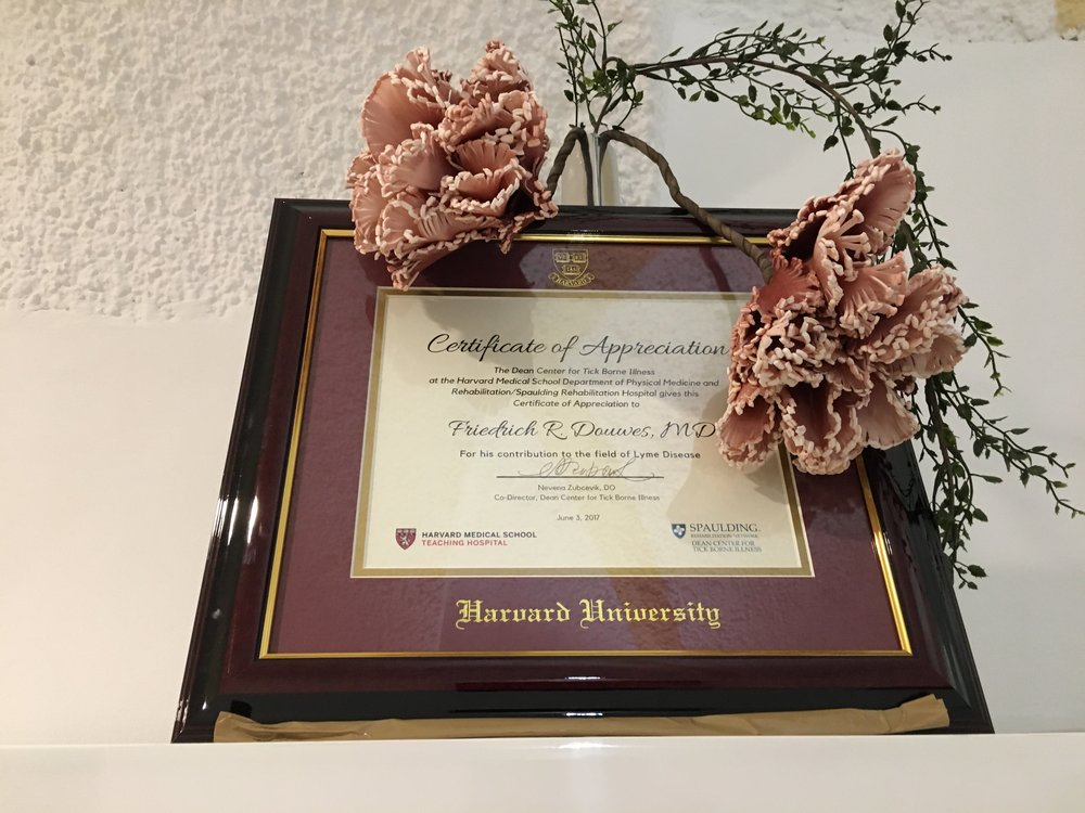 Dr. Friedrich Douwes' Award from Harvard University