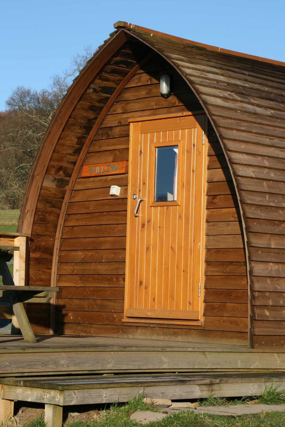 Glentress Forest Lodges Pod