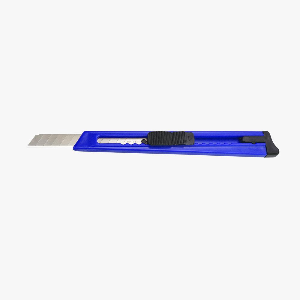 Mavi Plastik Falçata - 9 mm