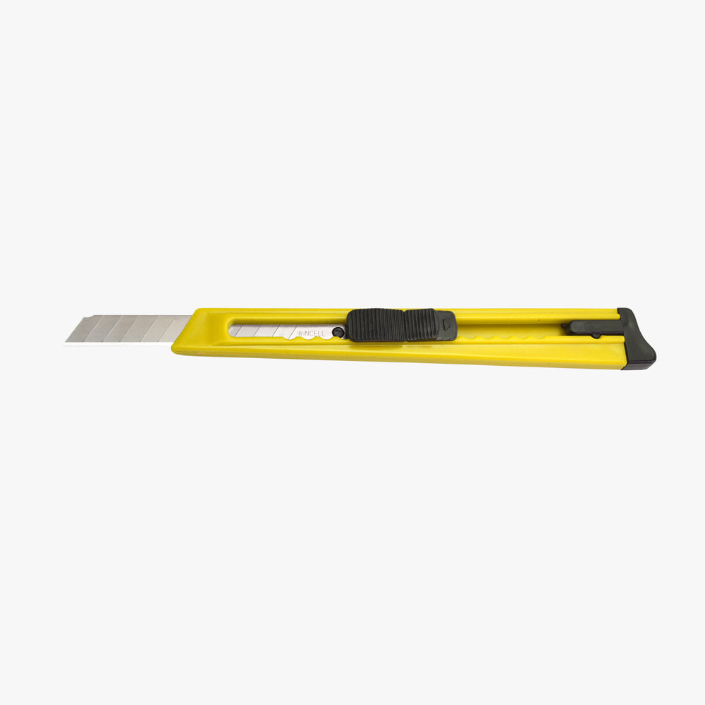 Yellow Utility Knife - 9mm