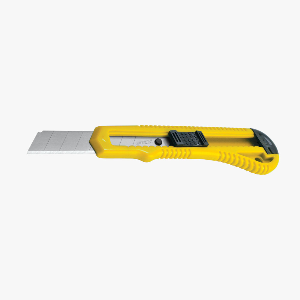 Yellow Utility Knife - 18mm