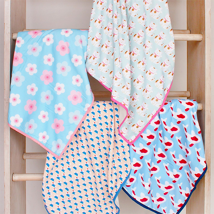 patterns & motifs cotonnier baby's blankets spring in japan combo.jpg