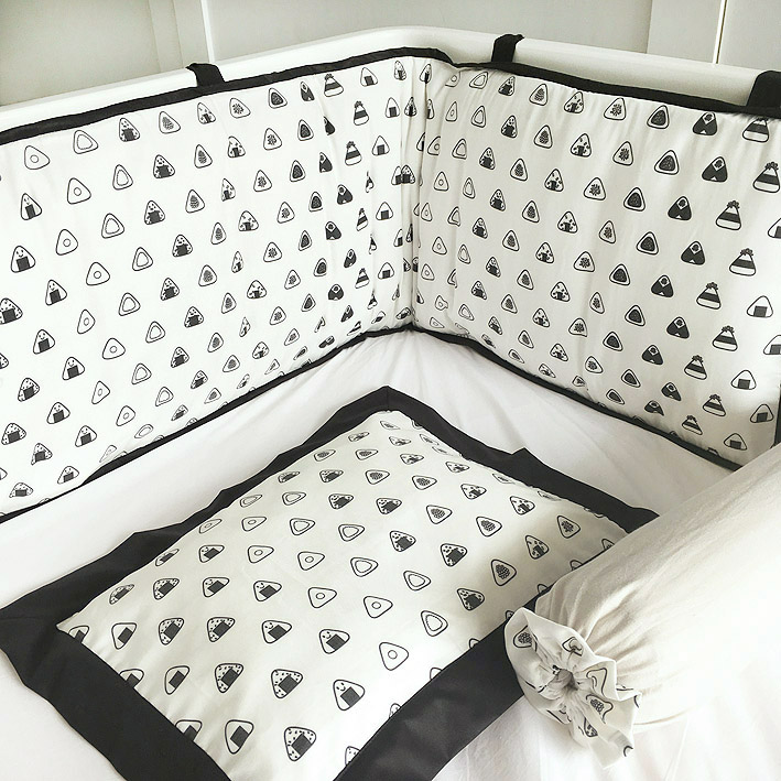 patterns motifs cotonnier onigiri bedding bumper pillows devina.jpg