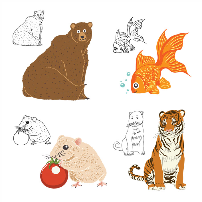 MINI-SYS.COM by S Y S illustration kids art poster a-z animal alphabet 1 individual edited.jpg