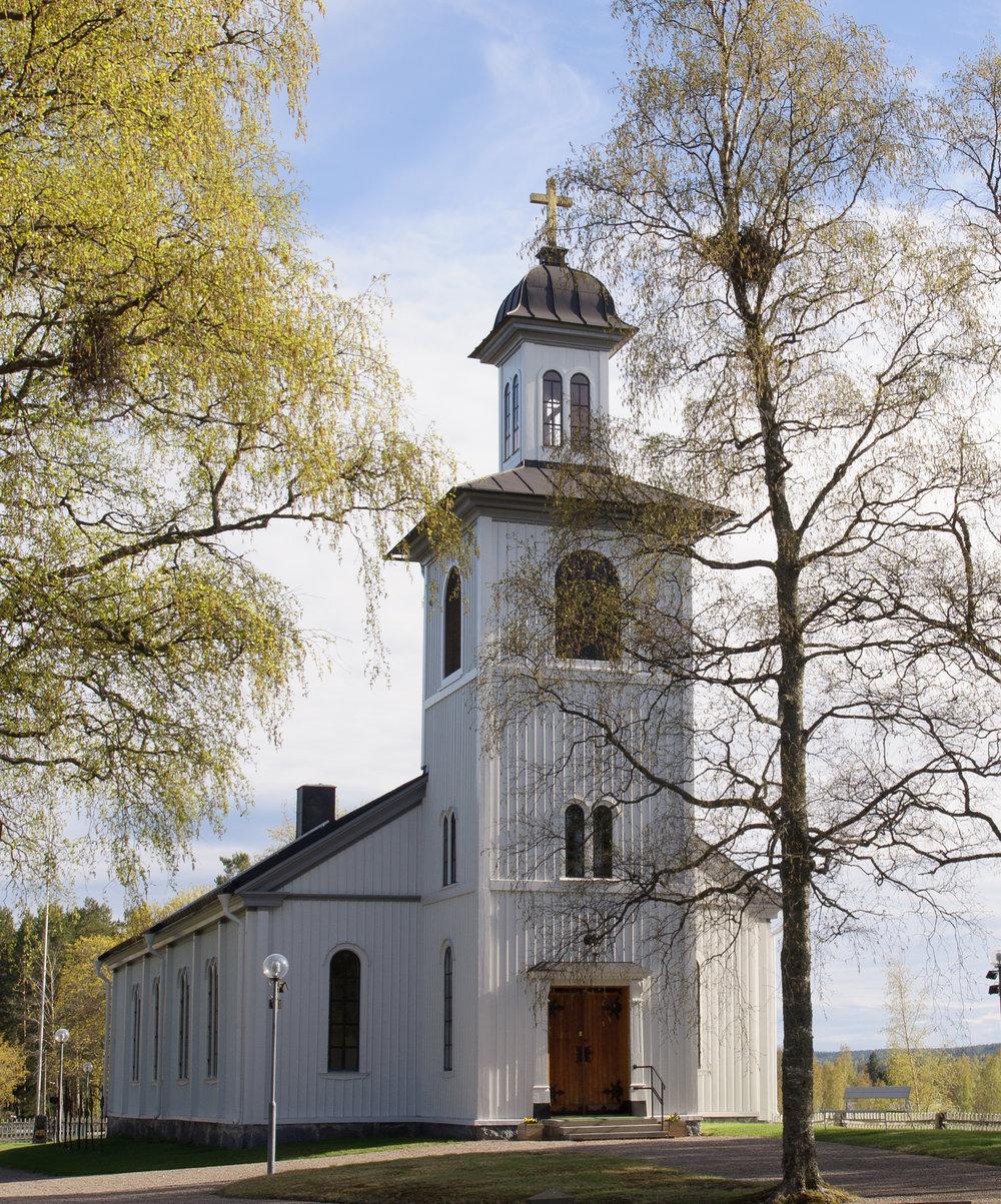 Lingbo kyrka, 2014. Foto: Patrick Permlid