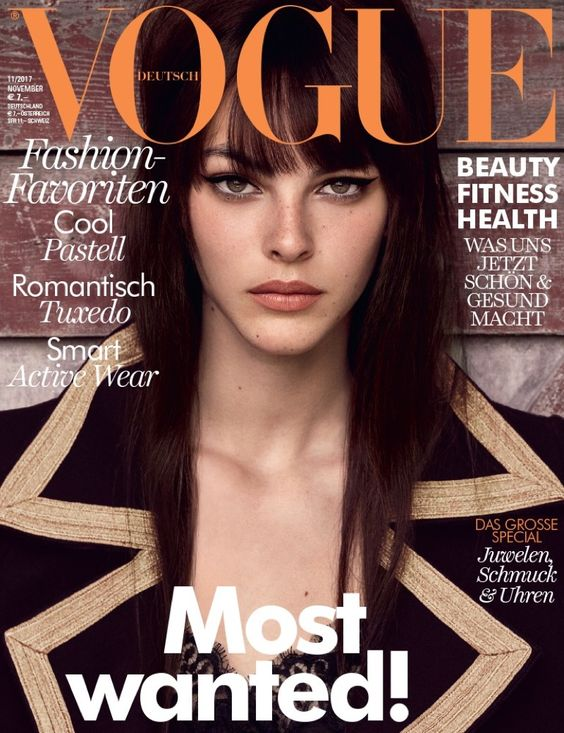 As seen in Vogue Germany -