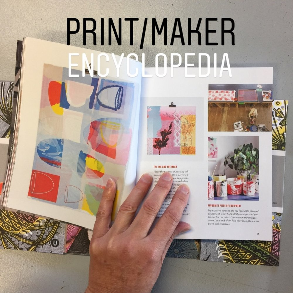 Encyclopedia of InspirationUppercase Magazine - 10 page feature showcasing print artists from all round the world.