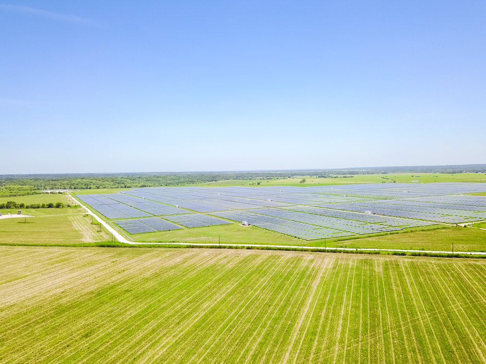 Solar Farm Site Preparation Services - Services include soil preparation,  seeding, straw and seed mix. We also offer wildflower seeding and fertilization.