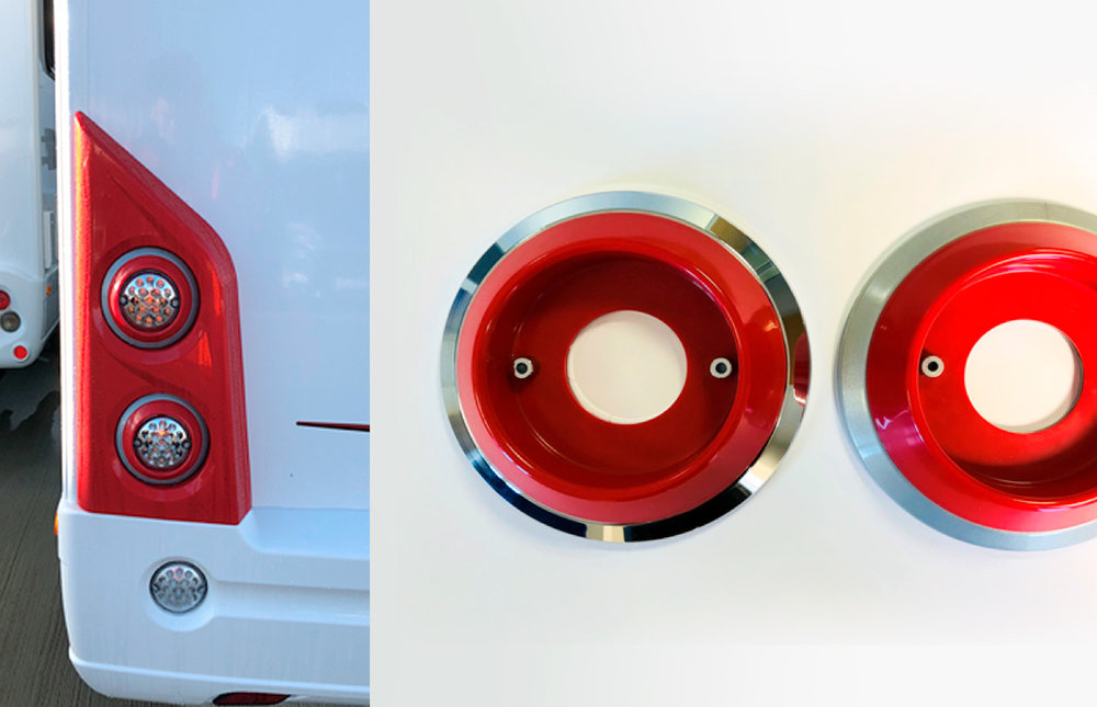 THE CHALLENGE - One of our largest customers in the group approached us to produce a 2 piece injection moulded rear light surround. The project challenge was immediately identified – our customer required parts in just 3 weeks after a strategic decision to design the new light moulding.