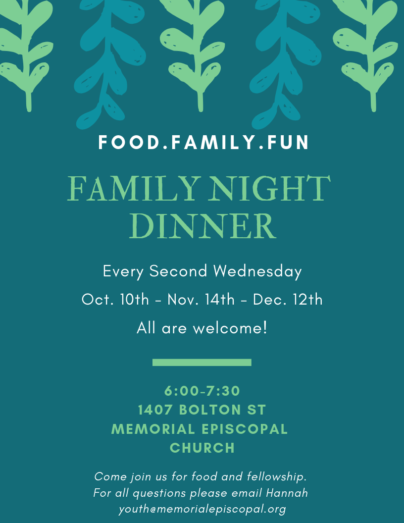 Family Night Dinners poster.png