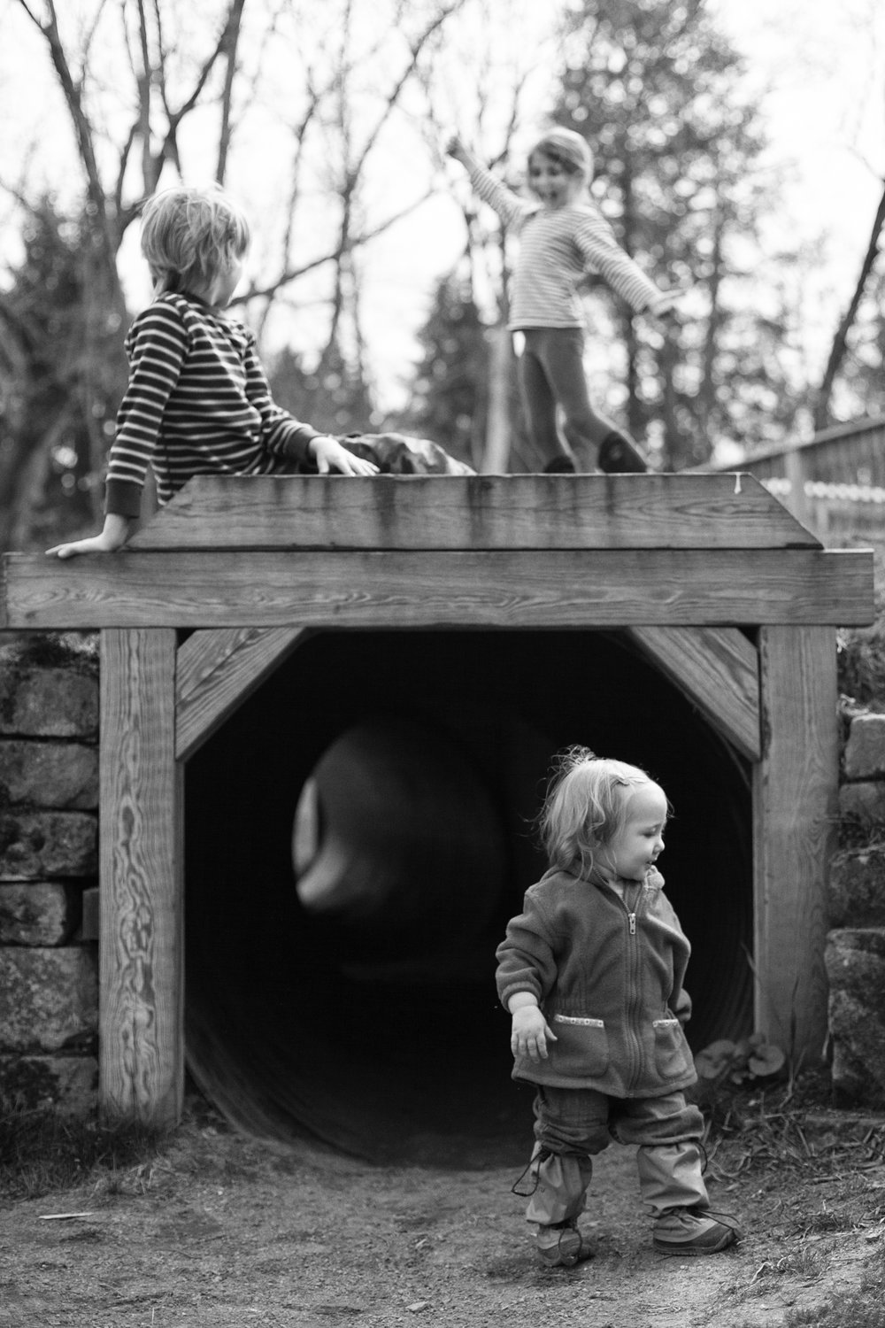 Inspired by the conversation - I am inspired by the photographers I talk to on the show - and hope you are too. I took this photo of my kids a couple days after talking with Niki. I was thinking of how she gets her kids in a frame together and her great black and whites.