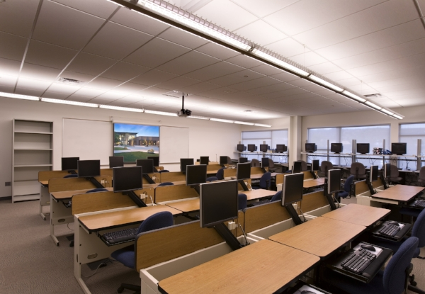 Designed for flexibility, the streamlined architecture reduces support costs while providing a foundation for future upgrades for unified communications and new learning technologies.