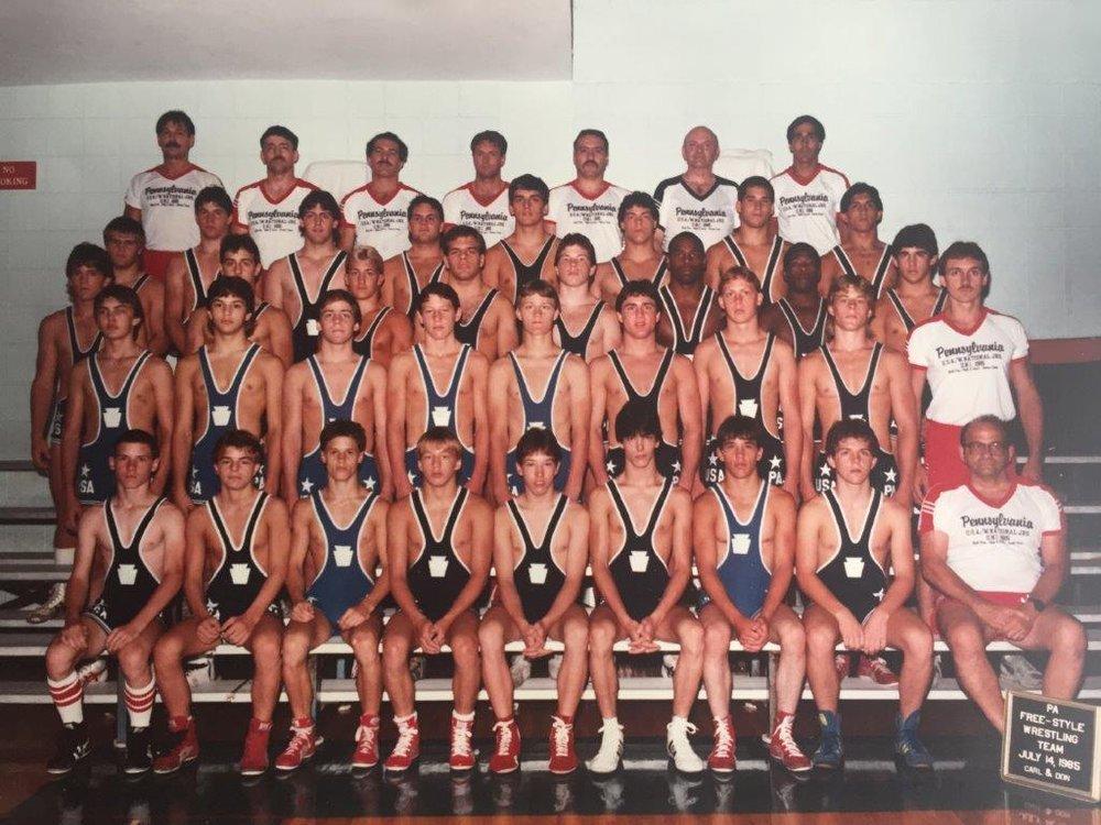 Pennsylvania National Freestyle Team.