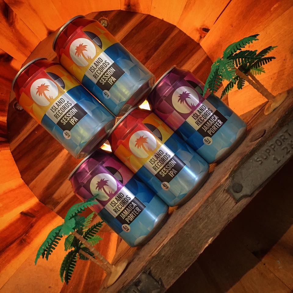 Don't go summer! We're not ready! You can always find a taste of the tropical here with these delicious brews from Two Tribes Brewing Co and Island Records UK !