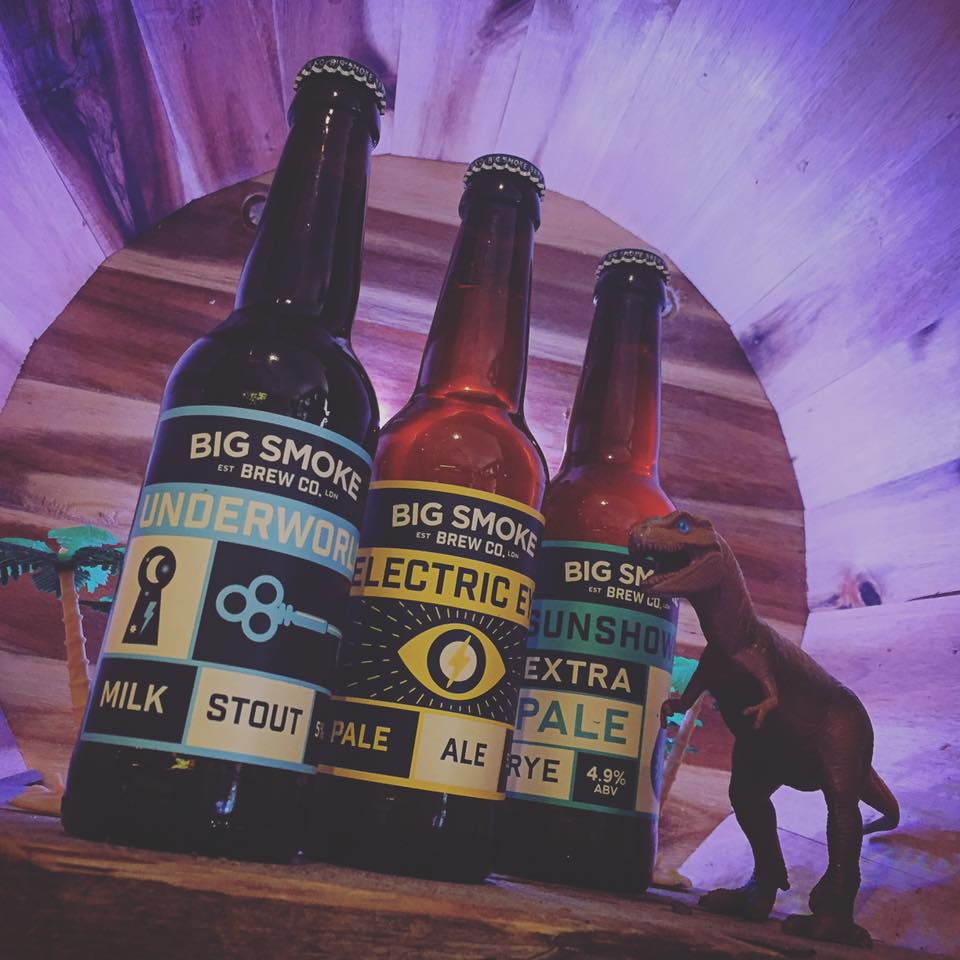 Big things from Big Smoke! Their milk stout is brewed with vanilla and raw cacao - it's sweet, creamy and delicious! Dessert in a bottle...mmm