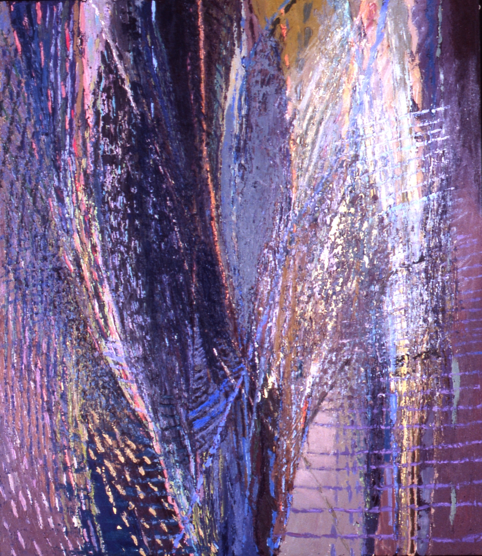 Blue Web, 44x38, 1994
