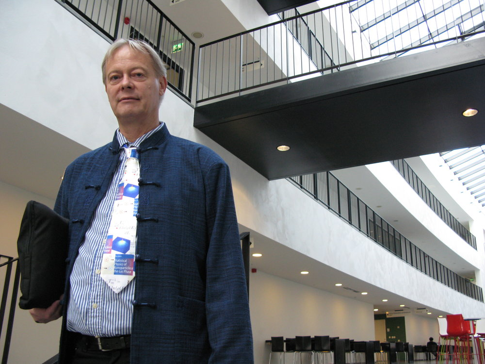 Klavs Hansen visits Stockholm University Department of Physics