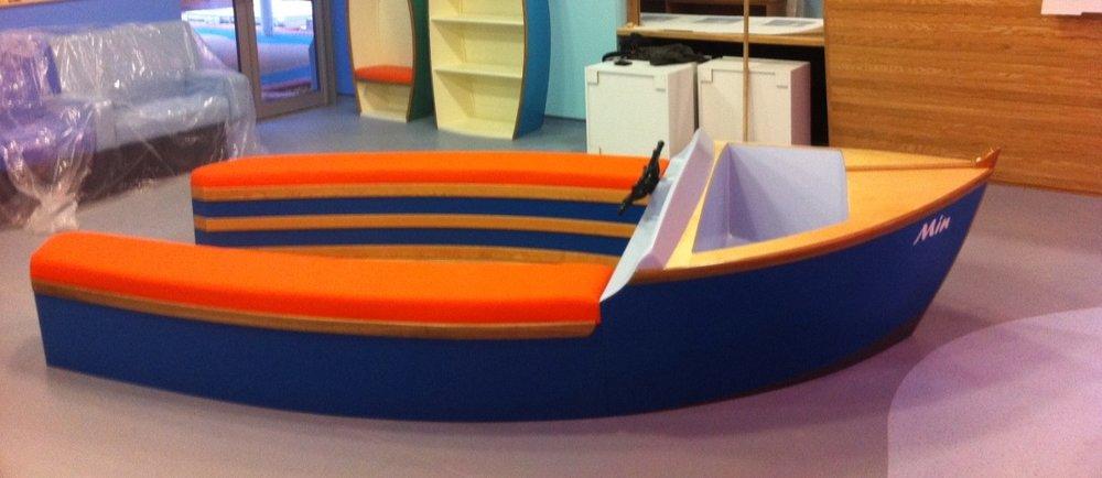 Hospital Play Boat