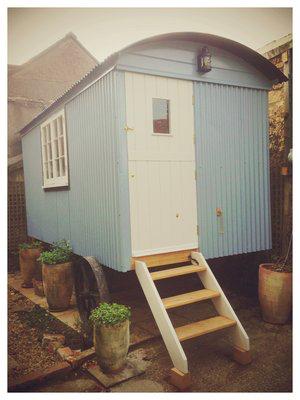 Made to measure Shepherd's Hut