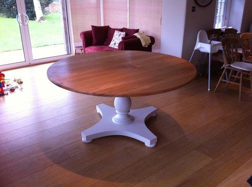 Oak top Table