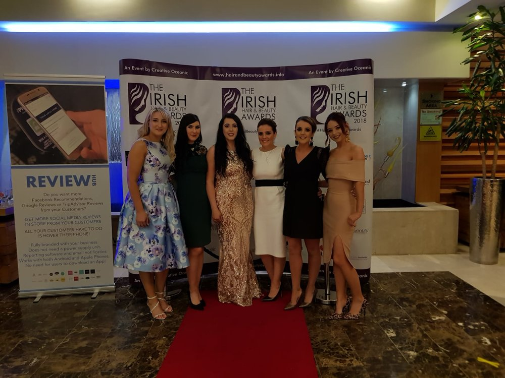 Irish Hair & Beauty Awards 2018 SeaBreeze Beauty Clinic