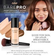 Bare Pro Foundation €32  Make-up Application €30
