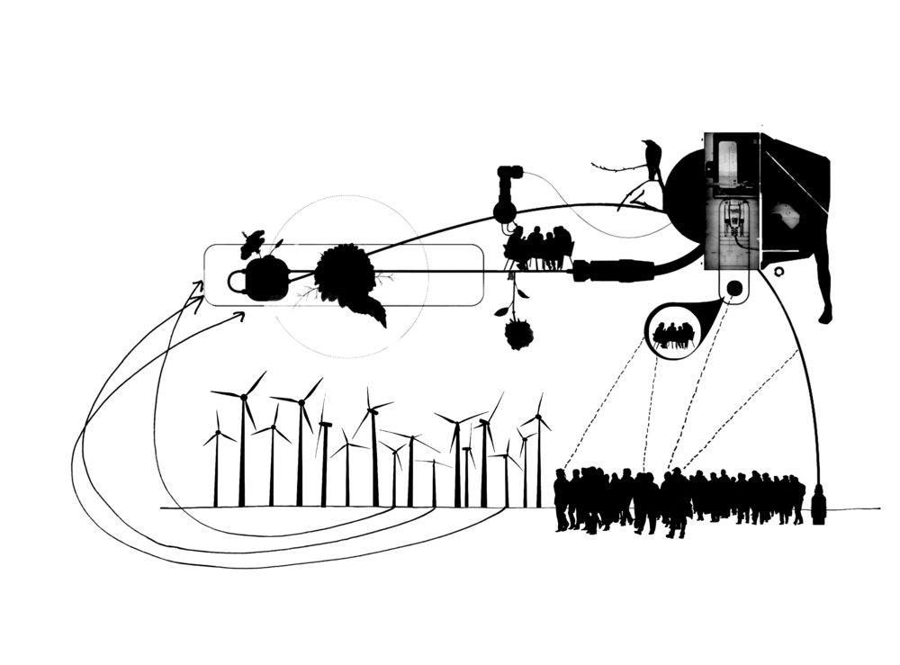 De systemen die onze maatschappij ondersteunen en het dagelijks functioneren waarborgen, zijn aan het transformeren. We zijn steeds meer verbonden, hebben de beschikking over steeds meer informatie, en onze zucht naar goederen, energie en schoon water worden steeds groter. Maar we weten eigenlijk nauwelijks wat de stad drijft, en wat er voor nodig is haar iedere dag te laten draaien. Waar steek je de stekker in, en zal dit ook duidelijk en tastbaar worden in het dagelijks leven?
