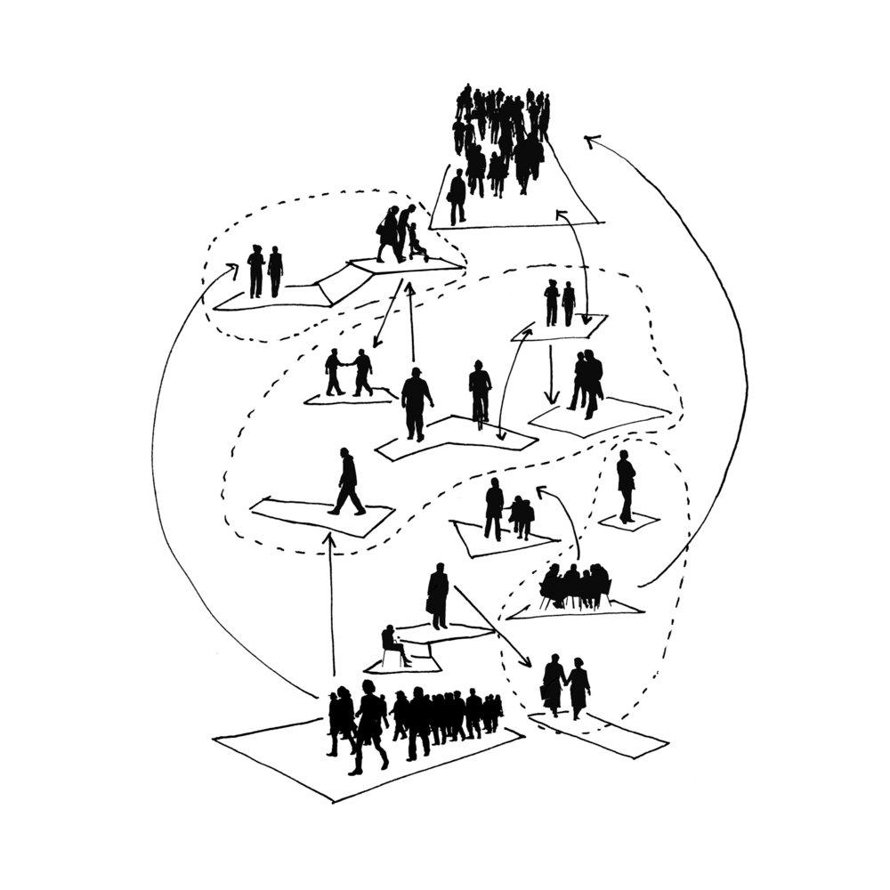 Er komt een nieuwe herverdeling van rollen in de balans tussen overheid, grote marktpartijen en georganiseerde maatschappelijke partijen. Maar de regels en organisatie zijn nog niet uitgekristalliseerd. Want voor wie is dit spel toegankelijk, wie heeft er zin in en wie heeft voldoende kennis en initiatief om de complexiteit van de maatschappij te doorgronden en naar zijn hand te zetten?