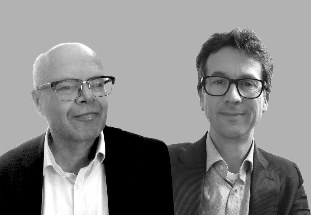 Martin Bekker (L) & David Quarles van Ufford (R) - MRA