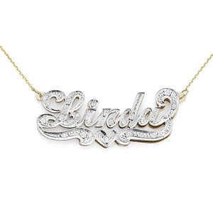 4db2207628b7b Gold Name Necklaces — Silver N Style