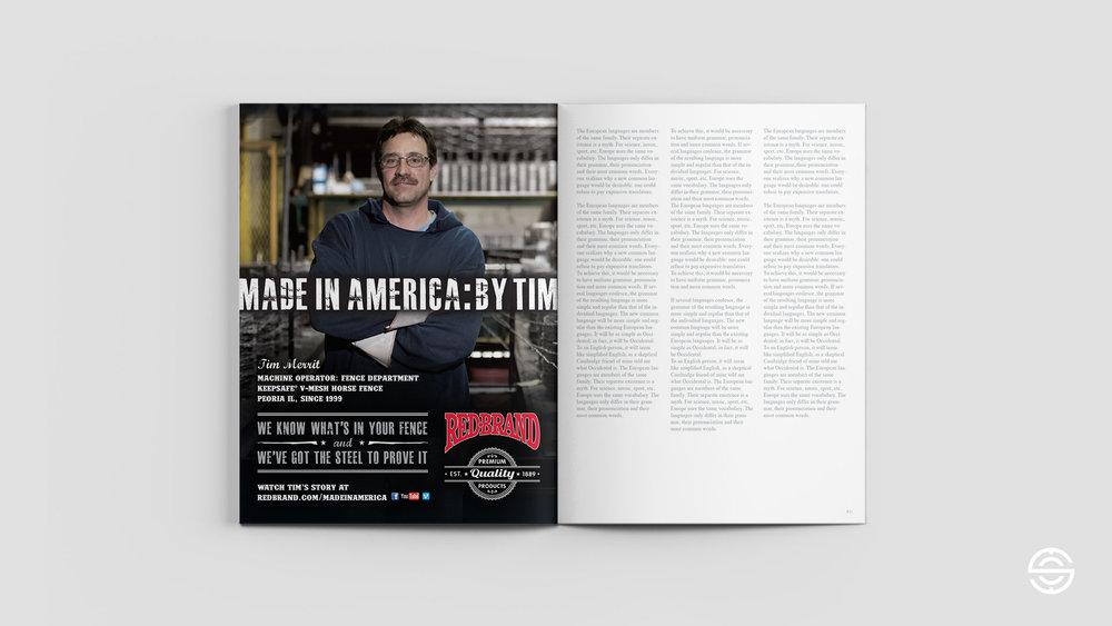 Tim Marit Print Ad
