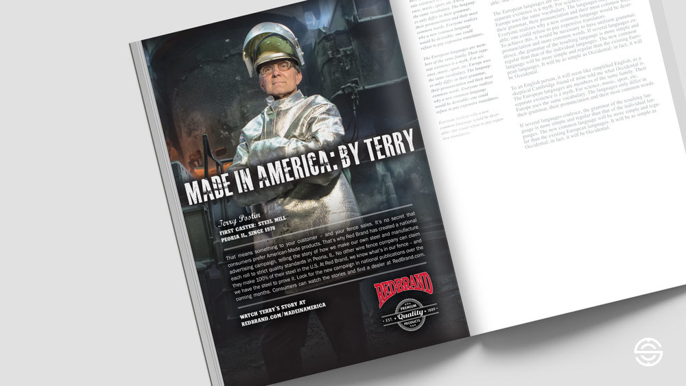 Terry Postin Print Ad