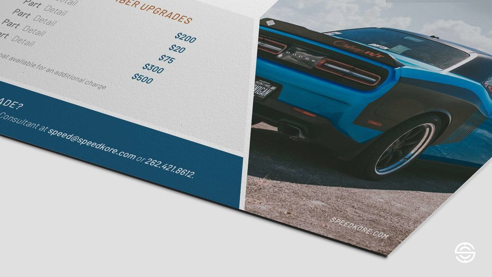 SpeedKore Sales Piece