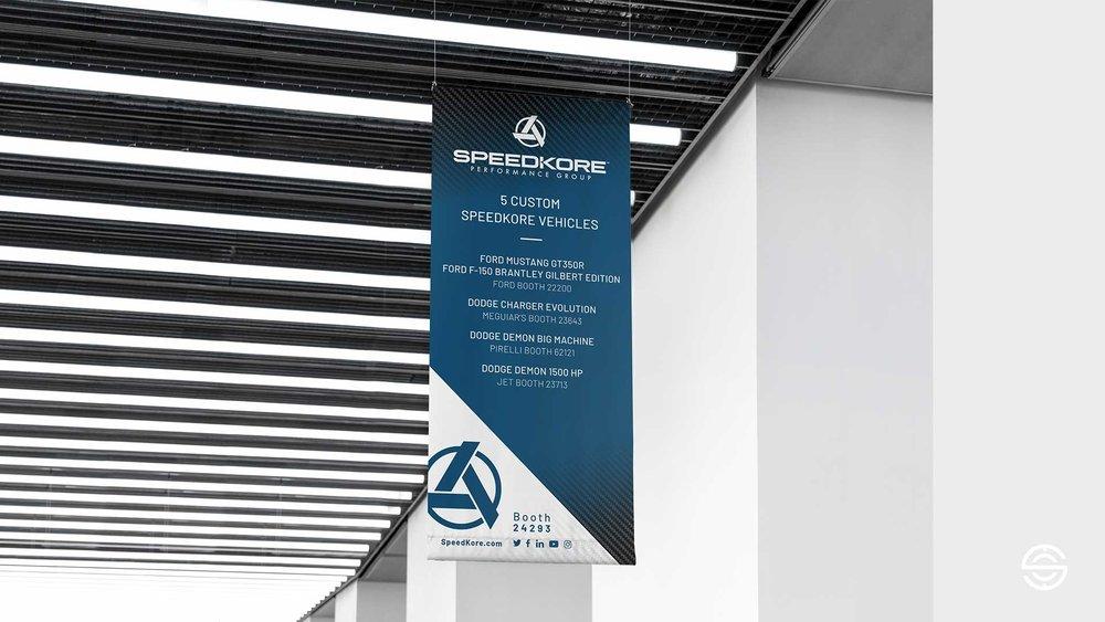 Sema Show 2018 Booth Navigation Banner