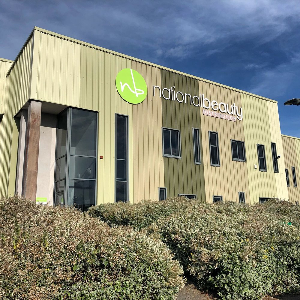 The new National Beauty Distribution facility in Blarney, Co. Cork.