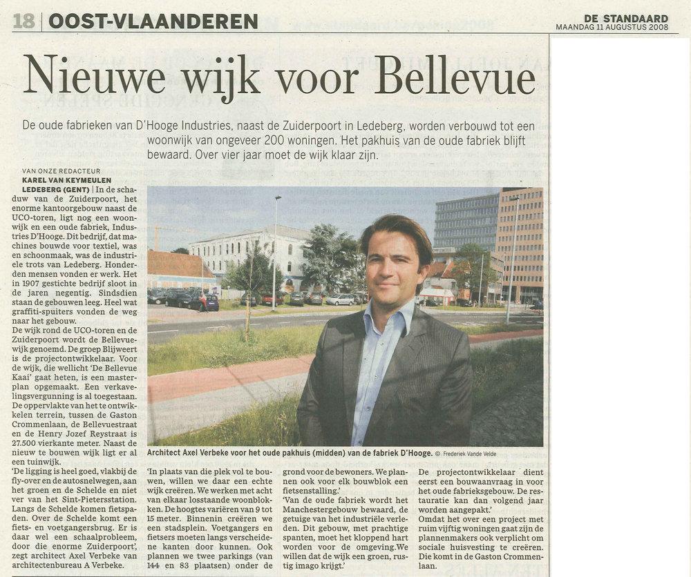 bellevuekaai_ De Gentenaar 9 en 10 augustus 2008.jpg