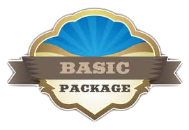 Basic Package:  $750 dollars/month