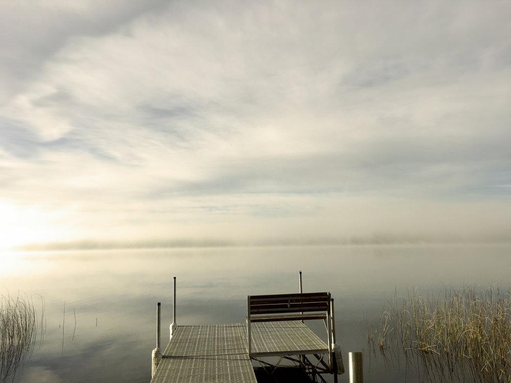 dock art photography lake