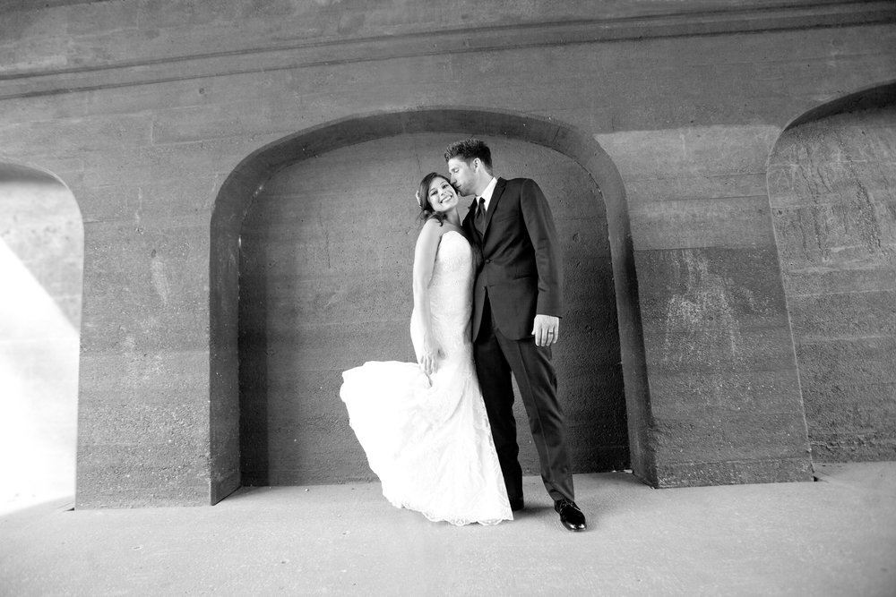 Wedding photography at stillwater lift bridge