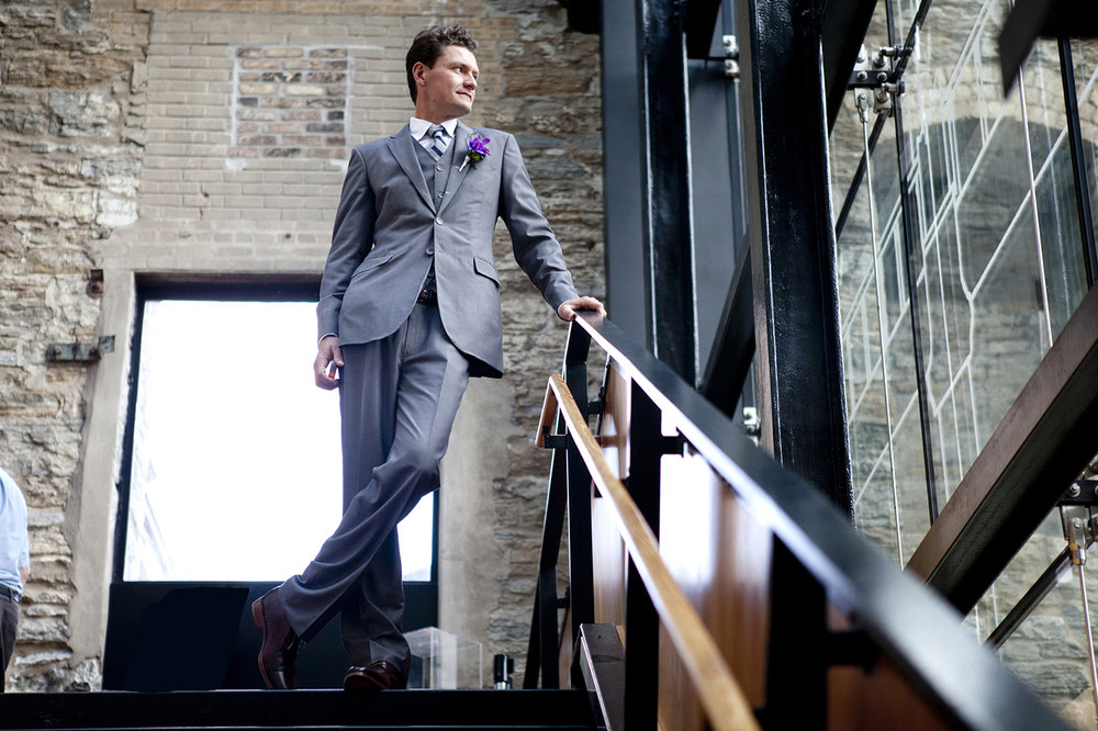 Wedding photography at Mill City museum minneapolis