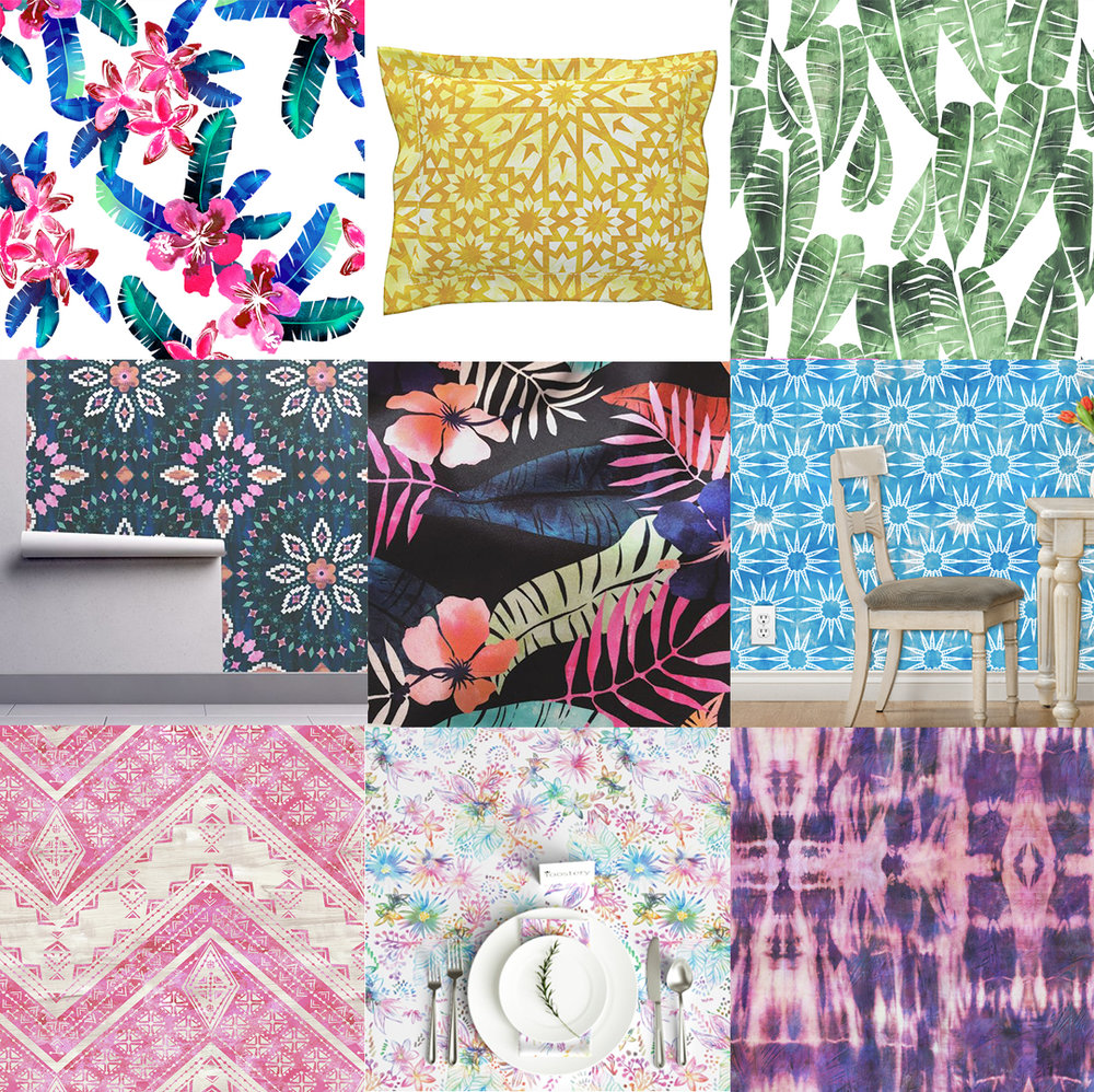 SPOONFLOWER - FABRIC , Wallpaper, wrapping paper and Home products