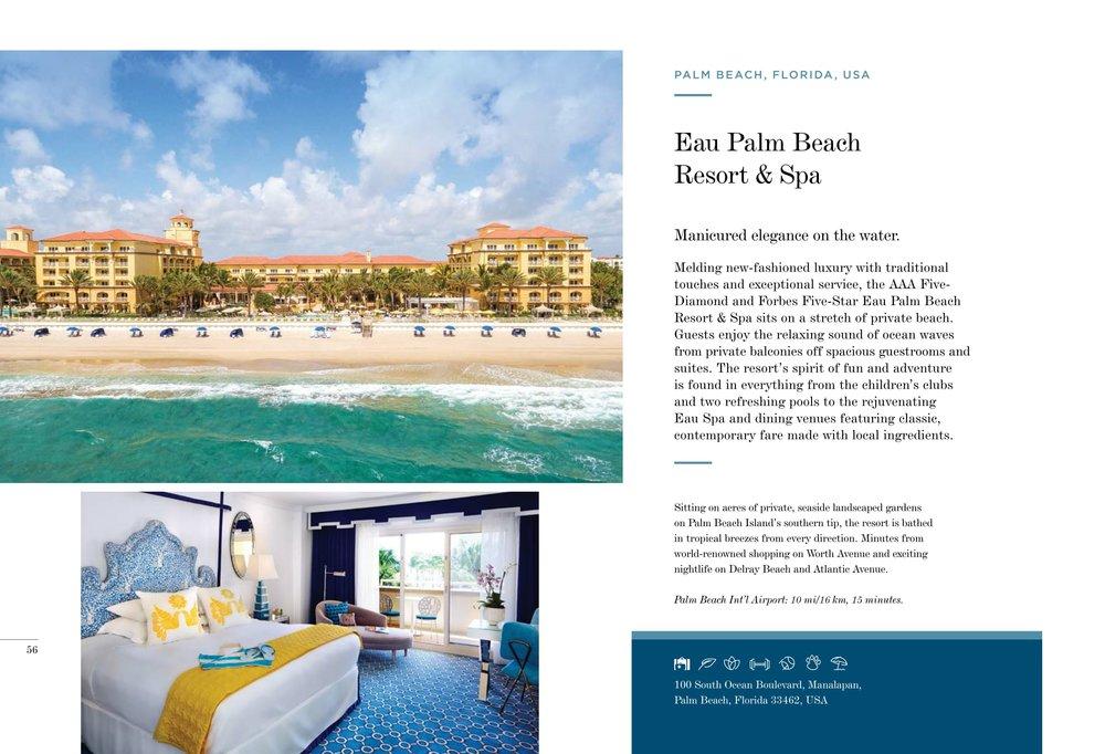 Eau Palm Beach Resort & Spa, Florida, USA