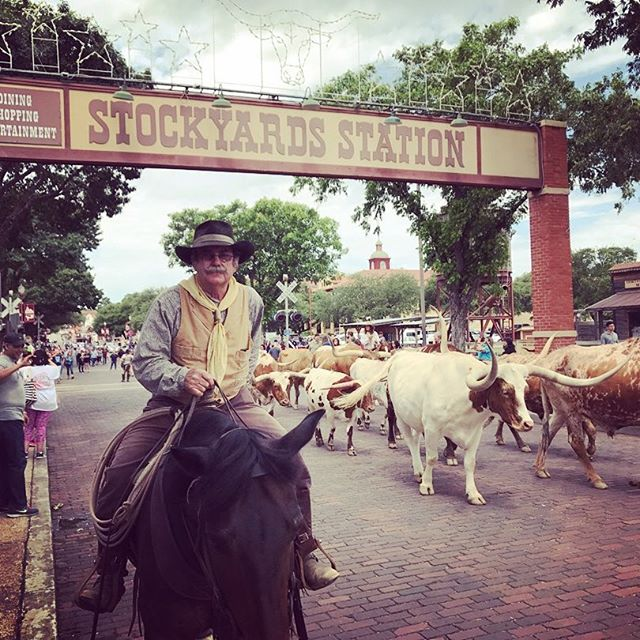 "Thinking fondly of my 2017 trip to Dallas. One side trip we took was here, to the Fort Worth Stockyards. Another, to Southfork Ranch, fulfilled a dream I've had since I was a little girl watching ""Dallas"" with my grandmother. What #bucketlist travel items did you tick off this past year? #texas #lonestarstate #wheretonext #thetravelingsouthernbelle"