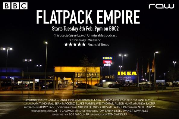 Raw Television Ltd Flatpack Empire